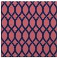 rug #327557   square blue-violet circles rug