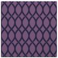 rug #327561 | square purple circles rug