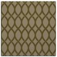 rug #327585 | square brown circles rug