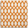 rug #327657 | square orange circles rug