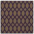 rug #327697   square purple circles rug
