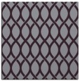 rug #327701 | square purple circles rug