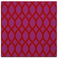 rug #327717 | square red rug