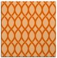 rug #327725 | square red-orange circles rug