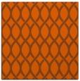 rug #327729   square red-orange circles rug