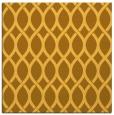 rug #327769 | square yellow circles rug