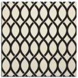 rug #327773   square black circles rug
