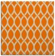 rug #327781 | square orange circles rug
