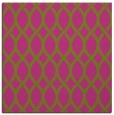 rug #327793 | square light-green circles rug