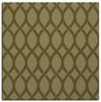 rug #327797 | square light-green geometry rug