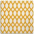 rug #327801 | square light-orange circles rug