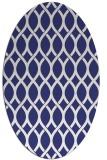rug #328097 | oval white geometry rug