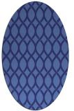 rug #328100 | oval circles rug