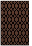 rug #328185 |  brown circles rug