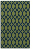 rug #328205 |  green circles rug