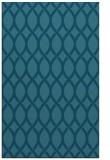 rug #328217    blue-green circles rug