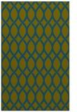 rug #328229 |  green circles rug