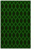 rug #328237 |  green circles rug
