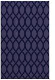 rug #328253    blue-violet circles rug