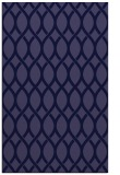 rug #328253 |  blue-violet geometry rug