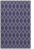 rug #328257 |  blue-violet circles rug