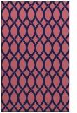 rug #328261    blue-violet circles rug