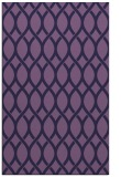 rug #328265    purple circles rug