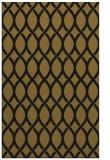 rug #328285 |  mid-brown circles rug