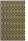 rug #328289    brown circles rug