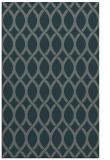 rug #328297 |  green circles rug