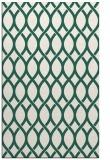 rug #328301 |  green circles rug