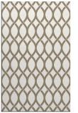 rug #328309 |  mid-brown circles rug