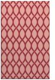 rug #328385 |  pink circles rug
