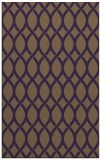 rug #328401 |  mid-brown circles rug