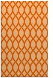rug #328429 |  red-orange circles rug