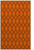 rug #328433    red-orange circles rug