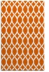 rug #328437 |  red-orange geometry rug
