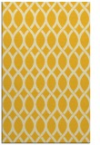 rug #328457 |  yellow circles rug