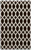 rug #328465 |  brown circles rug