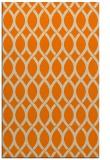 rug #328485 |  orange circles rug