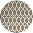 rug #328521 | round white geometry rug