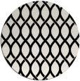 rug #328525 | round black circles rug