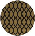 rug #328541 | round black circles rug
