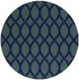 rug #328553 | round blue popular rug