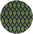 rug #328557 | round green circles rug