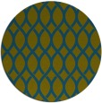 rug #328581 | round green circles rug
