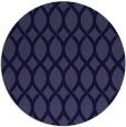 rug #328605 | round blue-violet rug