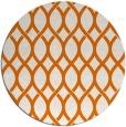 rug #328713 | round orange geometry rug