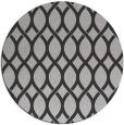 rug #328721 | round orange circles rug