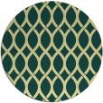 rug #328725 | round yellow circles rug